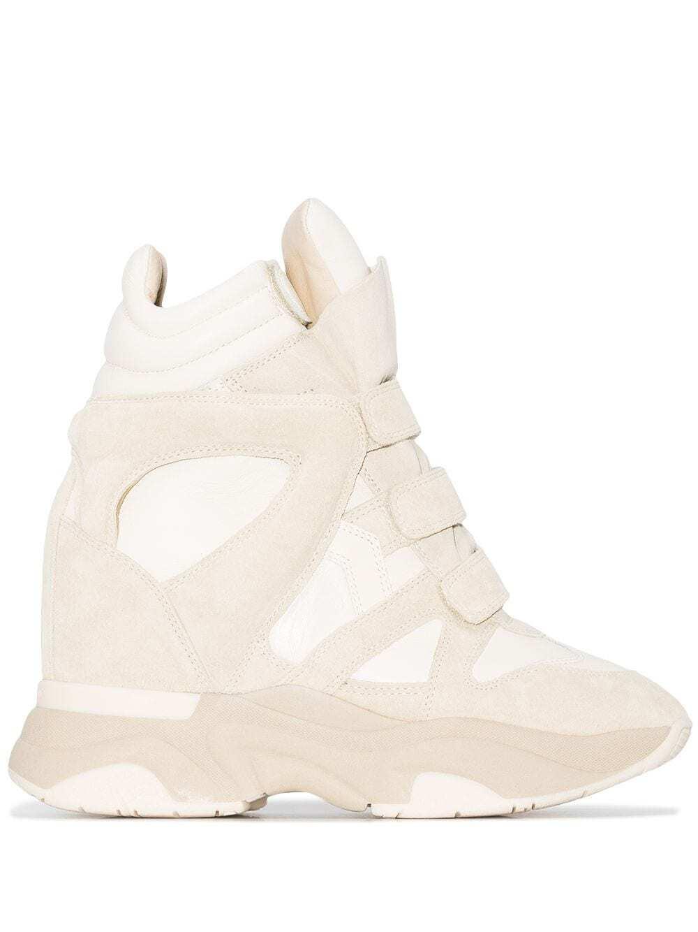 Balskee Keilsneaker in Creme