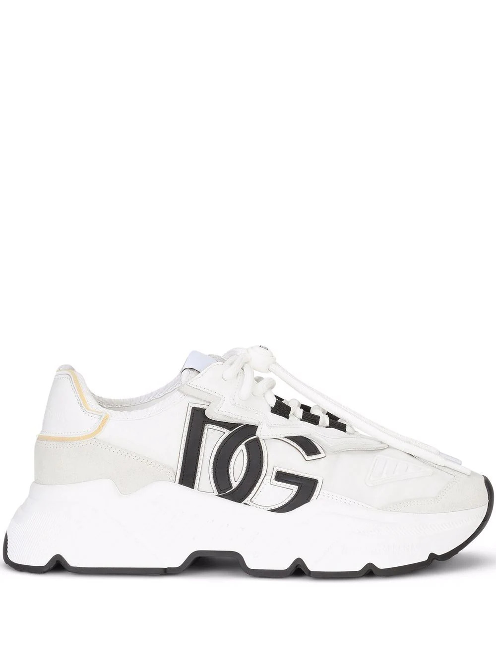 Sneakers Daymaster aus Materialmix