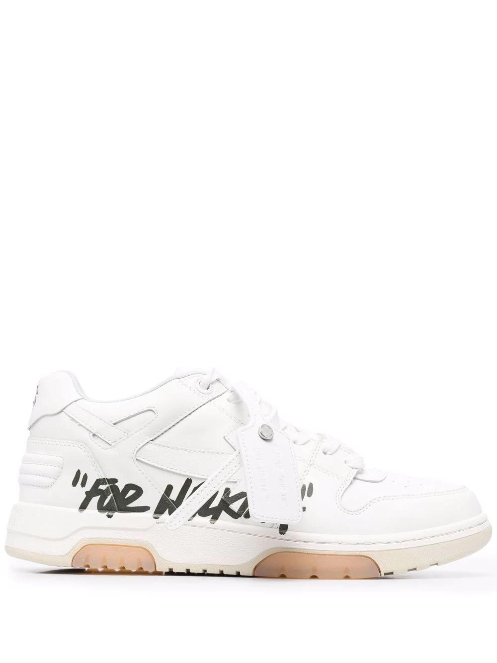 "Weiße ""For Walking"" Sneakers"